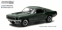 "Ford Mustang GT Fastback ""Bullitt"" (1968) Greenlight 1/43"