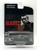 "Ford Mustang GT Fastback ""Bullitt"" (1968) Greenlight 1/64"