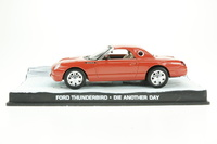 "Ford Thunderbird (2000) James Bond ""Die Another Day"" Fabbri 1/43 Entrega 27"