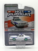 Ford Torino - Policía Boston Masachussets (1976) Green Machine 1/64