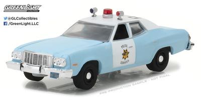 Ford Torino Policía de San Francisco California (1974) Greenlight 1/64