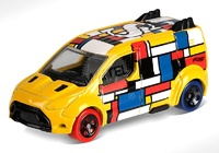 Ford Transit Connect -Art Cars- (2018) Hot Wheels 1/64