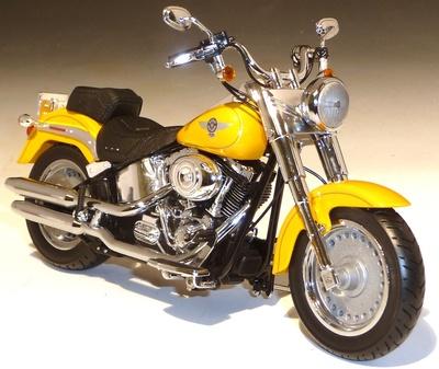 Harley Dadivson FLSTF Fat Boy (2011) ERTL 1/12