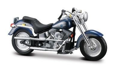 Harley Davidson FLSTF Fat Boy (1998) Maisto 1/18