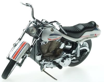 Harley Davidson Super Glide (1971) Franklin Mint 1/24