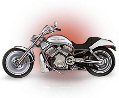 Harley Davidson VRSCA V-Rod (2002) Franklin Mint 1/10