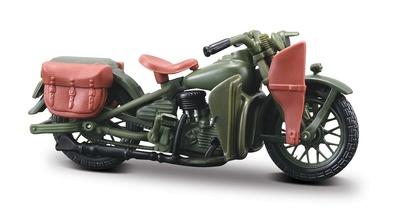 Harley Davidson WLA Flathead (1942) Maisto 1/18
