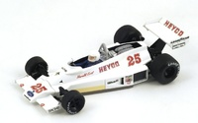 """Hesketh 308E """"GP. Bélgica"""" nº 25 Harald Ertl (1977) Spark S2234 1:43"""