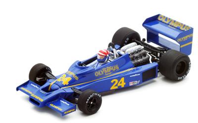 """Hesketh 308E """"GP. Sudáfrica"""" nº 24 Eddie Cheever (1978) Spark 1:43"""