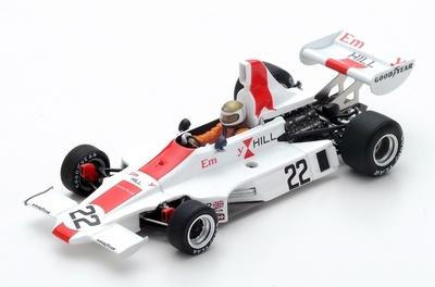 """Hill GH1 """"GP Suecia"""" nº 22 Vern Schuppan (1975) Spark 1:43"""