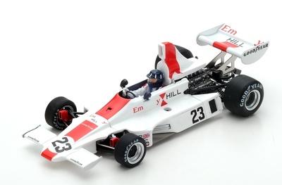 "Hill GH1 ""GP. Mónaco"" nº 23 Graham Hill (1975) Spark 1:43"