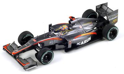 "Hispania F110 ""GP. Mónaco"" nº 20 Karun Chandhok (2010) Spark 1/43"