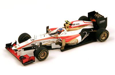 """Hispania F112 """"GP Mónaco"""" nº 23 Narain Karthikeyan (2012) Spark 1/43"""
