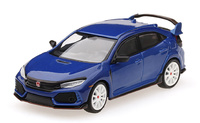 Honda Civic Type R (FK8) Aegean Blue Modulo Edition (2018) TSM 1/64