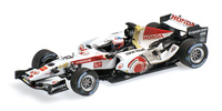 "Honda RA106 ""1º GP. Hungria"" nº 12 Jenson Button´DIRTY VERSION´(2006) Minichamps 1:43"
