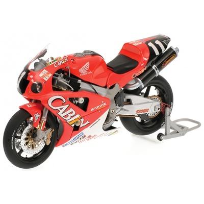 "Honda VTR 1000 ""8º Suzuka"" V. Rossi / C. Edwards - Team Cabin Honda (2001) Minichamps 1/12"