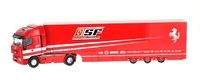 Iveco Stralis Transporte Oficial Ferrari (2007) Old Cars 1/43