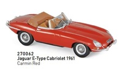 Jaguar E-Type Cabriolet (1961) Norev 1:43
