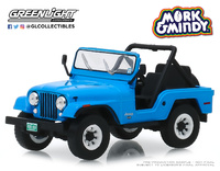 "Jeep CJ-5 (1972) ""Mork & Mindy"" (1978-82) Greenlight 1/43"