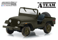 "Jeep CJ-5 ""El equipo A"" (1983) Greenlight 1/43"