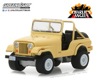 Jeep CJ-5 Los Angeles de Charlie (1976) Greenlight 1/64