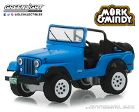 "Jeep CJ-5 ""Mork & Mindy"" (1972) Greenlight 1/64"
