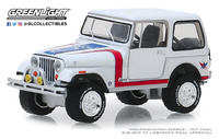 Jeep CJ-7 Custom Barret Jackson Lote nº 3005 (1981) Greenlight 1/64