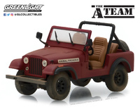 "Jeep CJ-7 ""El equipo A"" (1983) Greenlight 1/43"