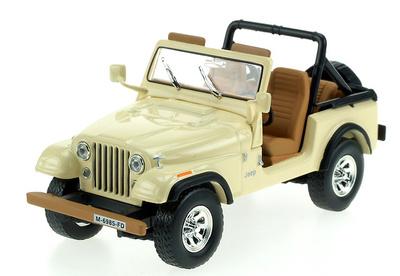 Jeep CJ-7 Laredo (1982) White Box 1/43