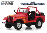 "Jeep CJ-7 The Terminator"" (1983) Greenlight 1/43"