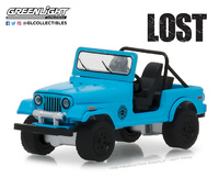 "Jeep CJ7 ""Dharma"" Lost (1977) Greenlight 1/64"