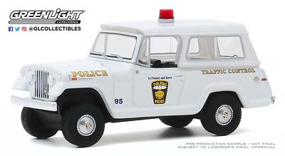 """Jeep Comando """"Kaiser"""" Policia de la ciudad de Toledo (Ohio ) (1969) Greenlight 1/64"""
