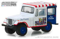 Jeep DJ5 Transporte de Helados (1975) Greenlight 1/64