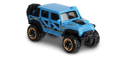 Jeep Wrangler -Baja Blazers- (2017) Hot Wheels 1/64