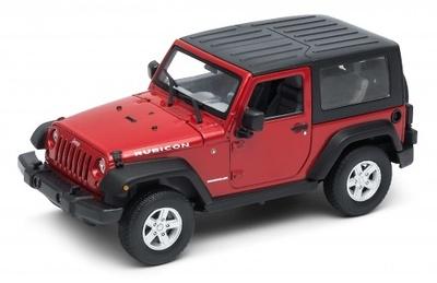 "Jeep Wrangler ""Cerrado"" (2007) Welly 1:24"