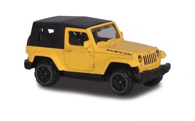 Jeep Wrangler Rubicon Capota Cerrada (2016) Majorette 1/64