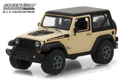 Jeep Wrangler Rubicon Recon (2017) Greenlight 1/64