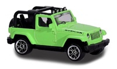 Jeep Wrangler Rubicon Sin Capota (2016) Majorette 1/64