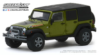 "Jeep Wrangler Unlimited ""Rescate""  (1992) Greenlight 1/64"