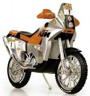 KTM 950 LC8 Dakar F. Meoni (2002) Norev 1/24