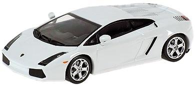 """Lamborghini Gallardo """"White Edition"""" (2004) Minichamps 1/43"""