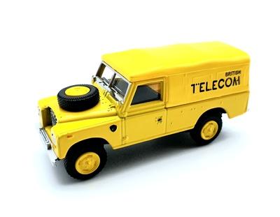 """Land Rover 109 Serie 3 """"British Telecom"""" (1971) Cararama 1/72"""