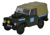 Land Rover 1/2 Ton Lightweight United Nations  (1968) Oxford 1/43