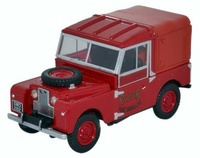 "Land Rover 88 ""Bomberos Rover"" (1950) Oxford 1/43"