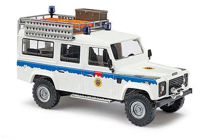 """Land Rover Defender """"Bergwacht Hessen"""" (1990) Busch 1:87"""