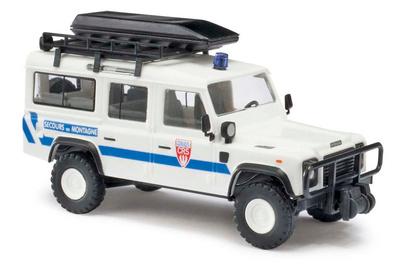 "Land Rover Defender ""CRS"" Rescate Alpino Francés (1990) Busch 1:87"