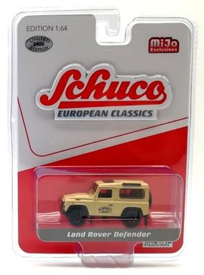 """Land Rover Defender """"Camel Trophy""""Schuco 1/64"""