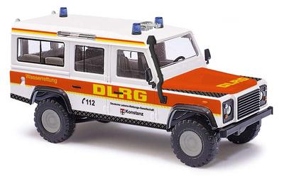 """Land Rover Defender """"DLRG"""" (1990) Busch 1:87"""