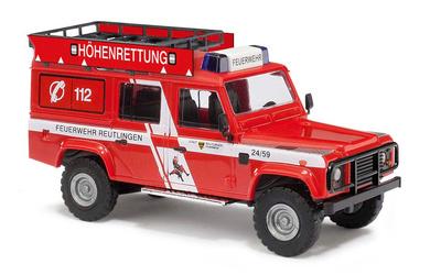 """Land Rover Defender """"Höhenrett.Reutlingen"""" (1990) Busch 1:87"""