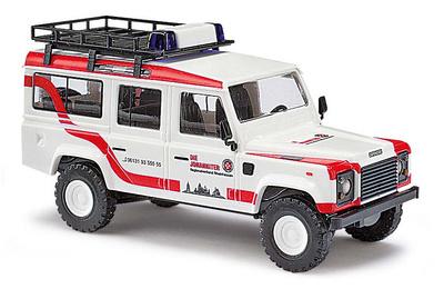 """Land Rover Defender """"Johanniter"""" (1990) Busch 1:87"""